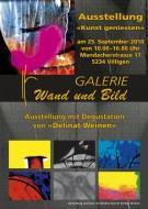 Ausstellung 25. September 2010